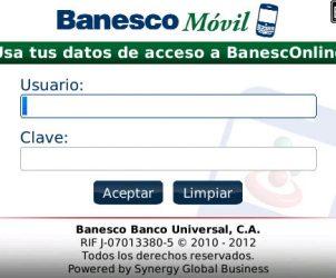Rediseño Aplicativo banesco blog