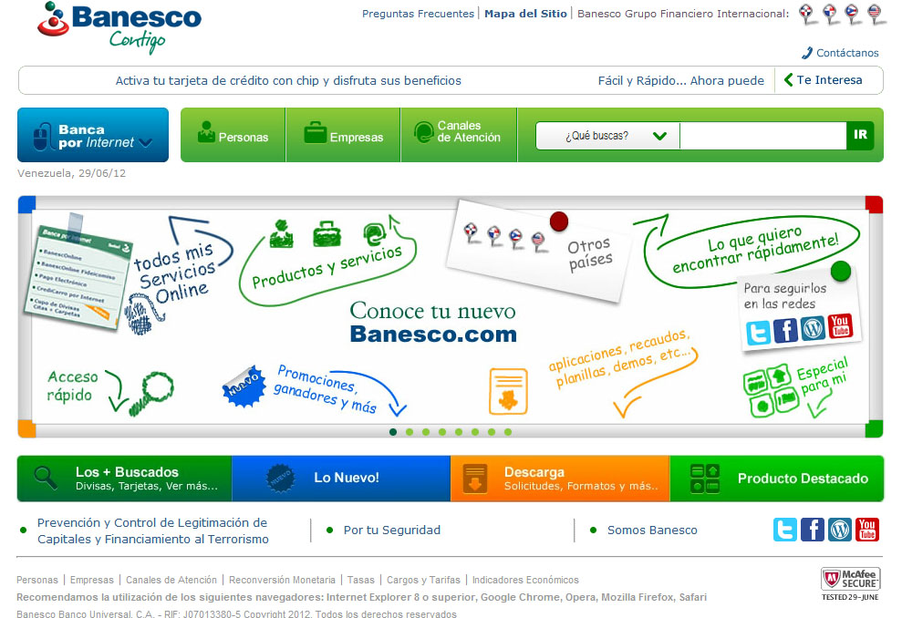 Banesco online
