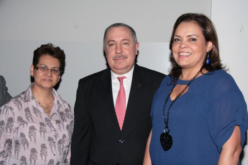 Luleyma Escalante, Sergio Saggese y Rebeca Fontalvo