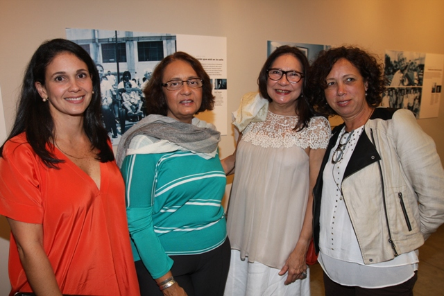 Gisela Viloria, Iliana Perozo, Consuelo Perozo y Liza Galindo