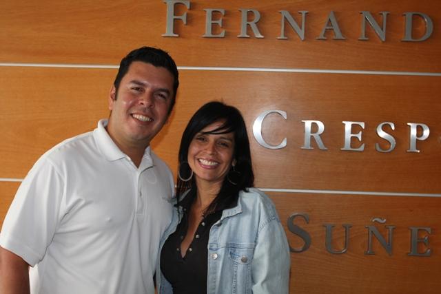 Raúl Betancourt y Lizeth Largo