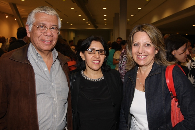 Gustavo Torres, Gloria Bastidas y Omaira Sayago