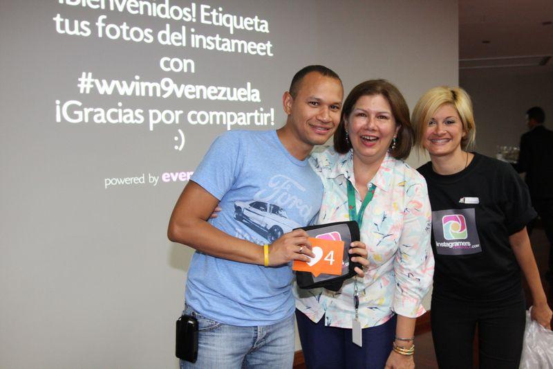 Anthony Miller, Belen López y Tania Gargano
