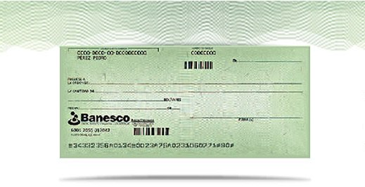 Los cheques de banesco estrenan imagen blog banesco for Banco de venezuela solicitud de chequera