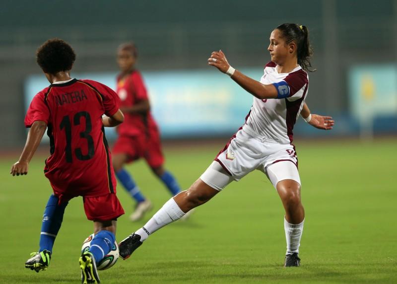 Deyna Castellanos anotó 4 goles en triunfo de la Sub-15 de Fútbol