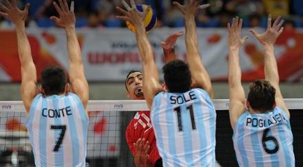 Selección argentina de voleibol