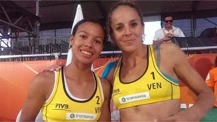 Olaya Pazo y Norisbeth Agudo (Venezuela)