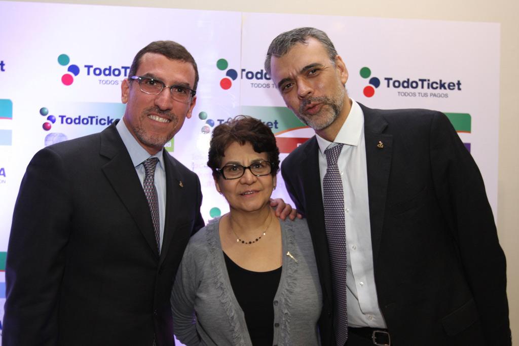 Miguel Ángel Marcano, Luleyma Escalante y Oscar Doval