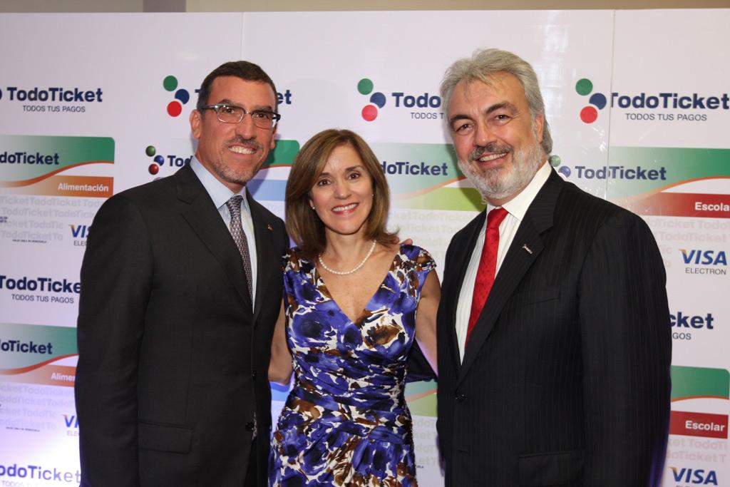 Miguel Ángel Marcano, Patricia Riera y Luis Xavier Lujan