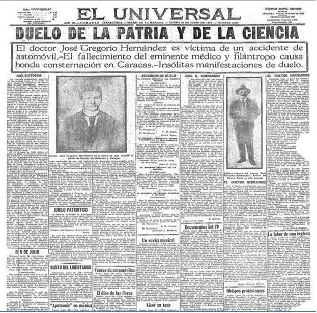 José_Gregorio_Hernández periodico